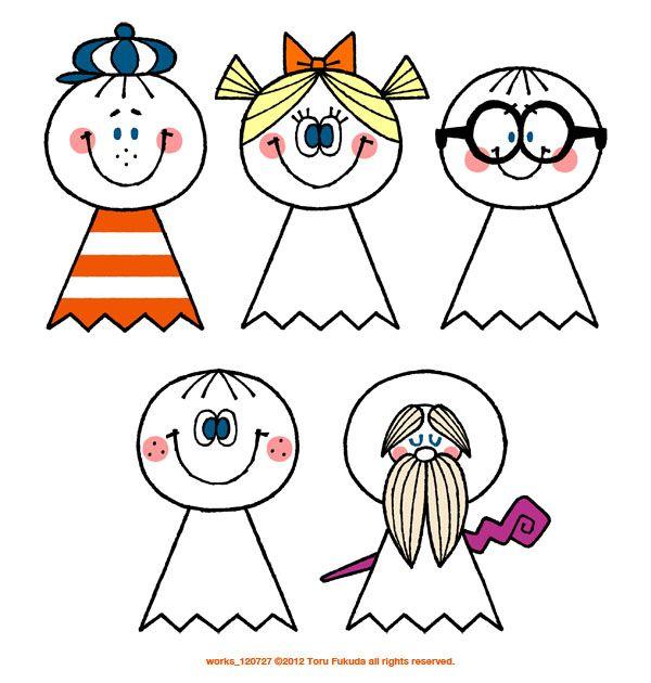 """torufukuda: """" TAN-SU 古舘プロジェクトによるコンテンツ「地域・人・ものづくり ~未来につながるアイデアの引き出し~TAN-SU」において、 てるてる坊主のキャラクターデザインを手がけました。 キャラクターデザイン:福田透 プロデューサー:山口泰志(古舘プロジェクト) """""""