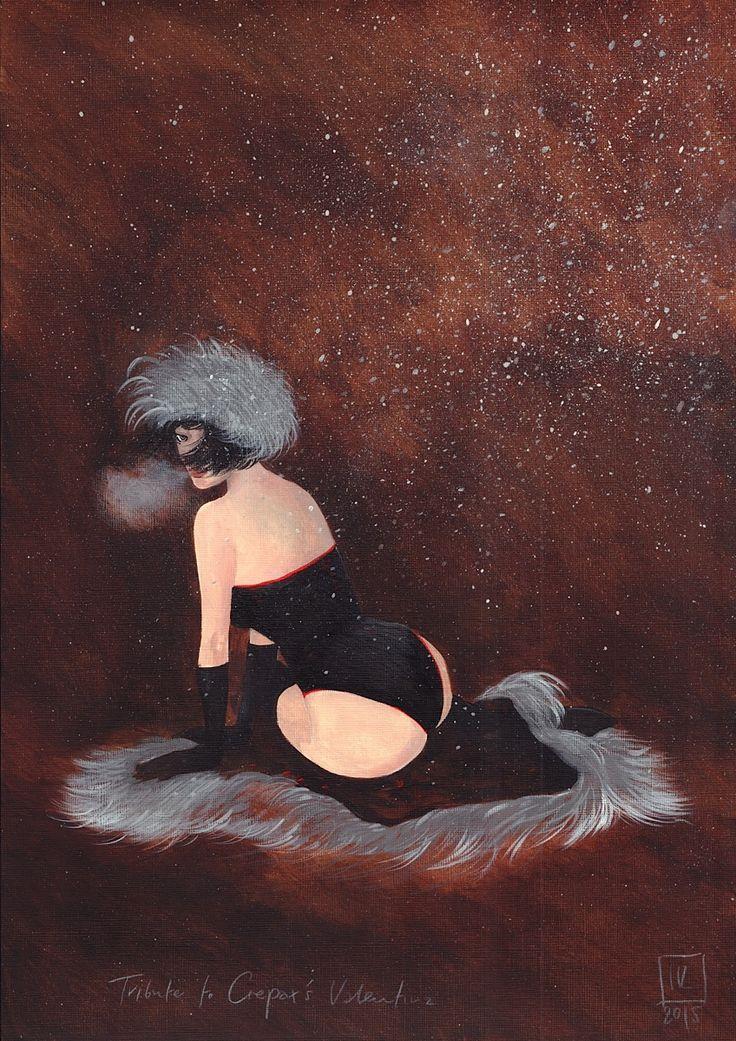 Joanna Karpowicz, Winter Valentina z: Tributes to Valentina by Guido Crepax, 2015 | Muzeum Erotyzmu  #JoannaKarpowicz #erotyzm #erotyka #eroticism #erotica #erotic #eroticart #art #sztukaerotyczna #sztuka #2aukcjasztukierotycznej