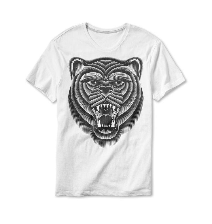 """Popatrz na ten projekt w @Behance: """"Bear II"""" https://www.behance.net/gallery/50145277/Bear-II"""