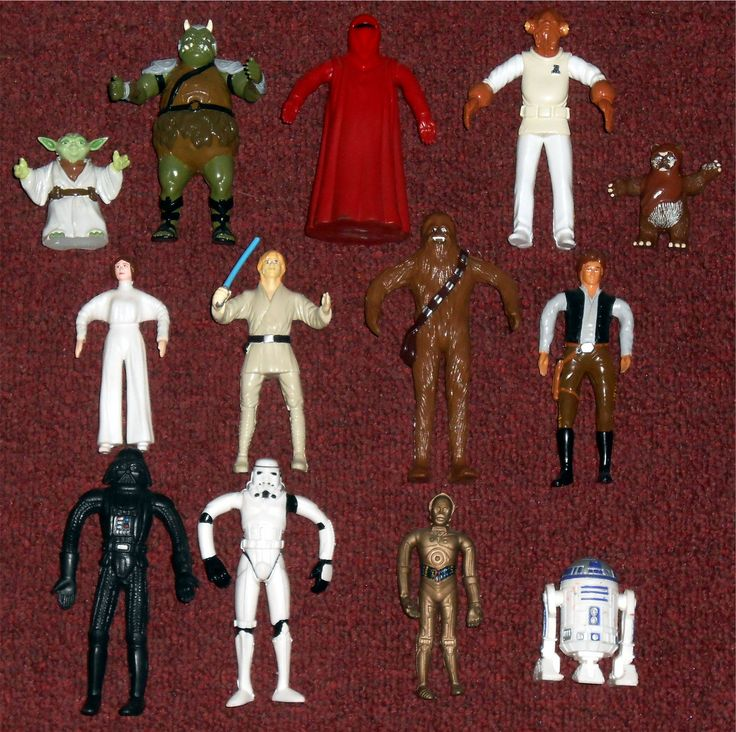 Just Toys - Star Wars Bend-Ems I don't really collect Just Toys - Star Wars Bend-Ems, but I do pick them up when I find them cheap. Here's the one I have collected so far.