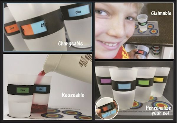 Sunny Coast Kids Review - My Colour Cup (the cup that changes names)