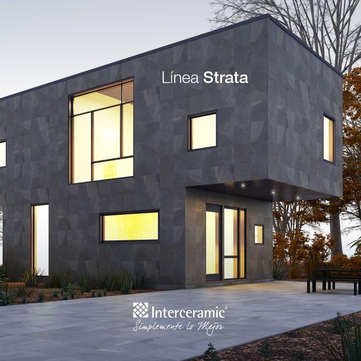 Lo nuevo en pisos y azulejos lleva por nombre strata y for Fachadas con azulejo