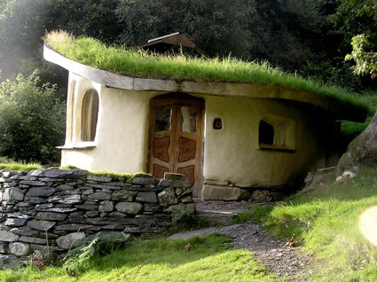 Grass Roof Makes The House Look Like A Jaunty Hat