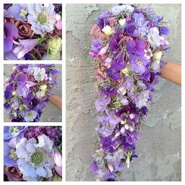 Blomster til bryllupsfesten! Brudebukett, knapphulsblomst, alt du trenger.