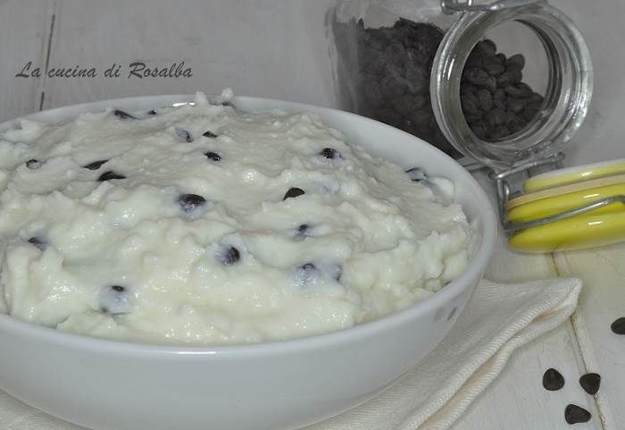 Crema di ricotta siciliana  #lacucinadirosalba #dolce