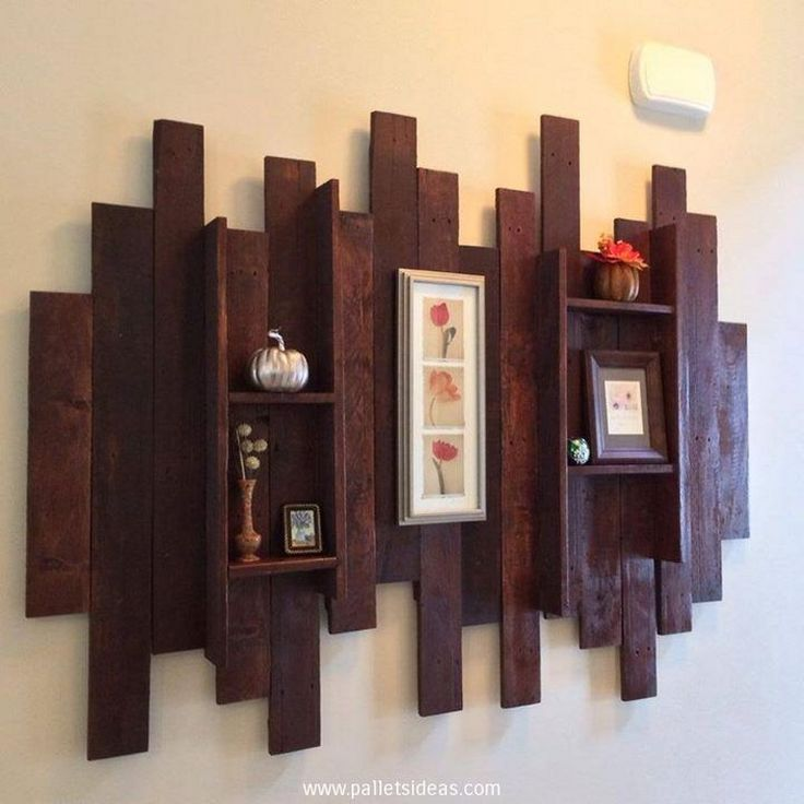 25 best ideas about pallet wall art on pinterest wood art apartment wall art and chevron signs - Art on walls home decorating ...