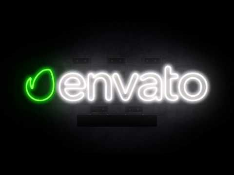 After Effects Templates – [Ger.Eng-Media] Neon Logo – After Effects Templates, Projects File