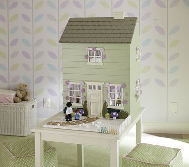 Westport Dollhouse Green #pbkids