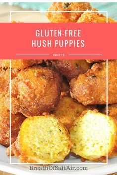 gluten free hush puppies recipe hush puppies receta fritura de pescado ...