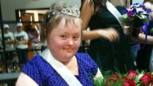Annie Wagner has Down syndrome and leukemia. Anne's classmates at Downers Grove North High School voted her homecoming queen. (Photo supplie...