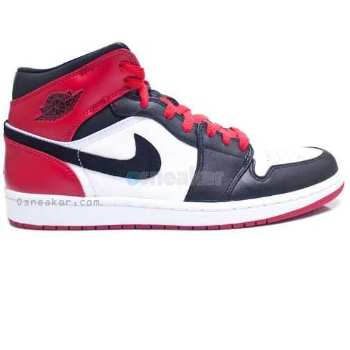 In 2007 Jordan Brand released Air Jordan 1 Retro Old Love New Love Package. In this pair the outer shell consists of red white and black leather. This was a limited release when it came out. It sold out of most stores when it dropped and would make a great addition to anyone's collection! This is a great retro pair for any Jordan collector. This pair is not available anywhere else but Osneaker.com