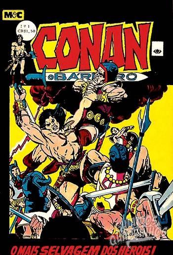 Conan O Bárbaro n°1 - Minami & Cunha (M & C) - Guia dos Quadrinhos