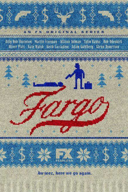 """A jeez, here we go again."" Fargo, on F/X. What an amazing cast: Martin Freeman, Joey King, Billy Bob Thornton, et al..."