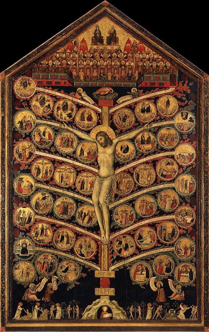 Pacina Di Bonaguida ca.1303-1340 Tree of the Cross