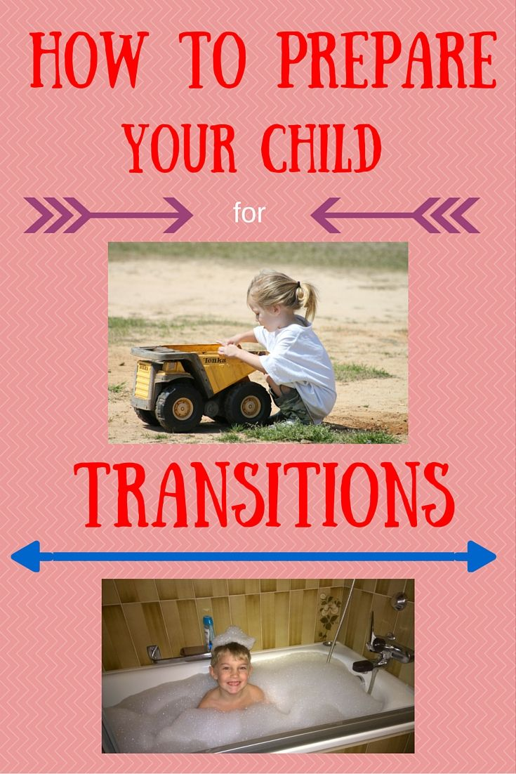 5 Ways to Prepare your Child for Transitions