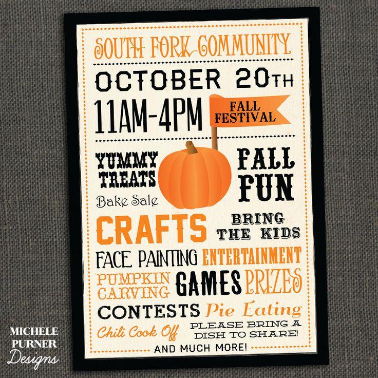 fall fest invitation