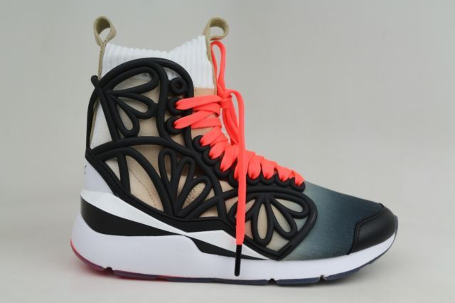PUMA X SOPHIA WEBSTER PEARL CAGE MID FADE MID TOP WHITE ORG