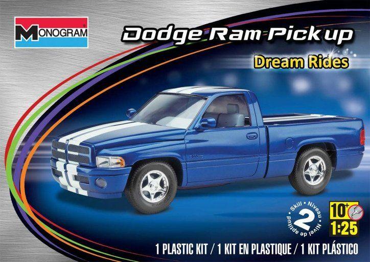 REVELL-MONOGRAM 4017 - 1:25 Dodge Ram VTS Pick up