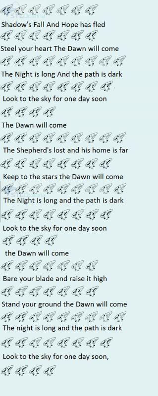Dragon Age Inquisiton - The Dawn Will Come