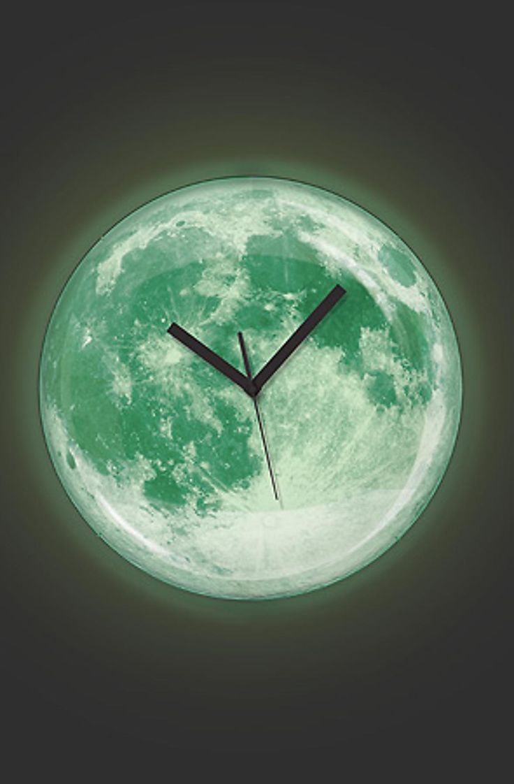 17 best clocks images on pinterest wall clocks alarm clocks and kikkerland clock moon wall clock glow in the dark musica amipublicfo Images