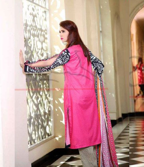 Lala Classic Cotton Embroidered lawn Suits Vol 1. CCE_04A