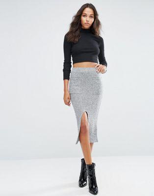 ASOS Pencil Skirt in Cut