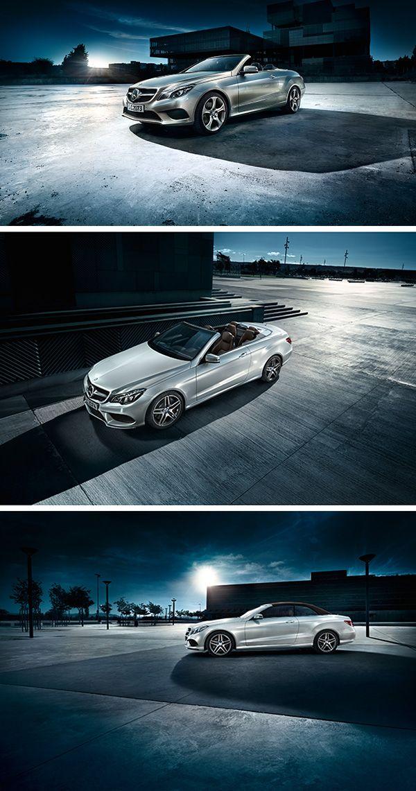 Open-air comfort: the E-Class Cabriolet.
