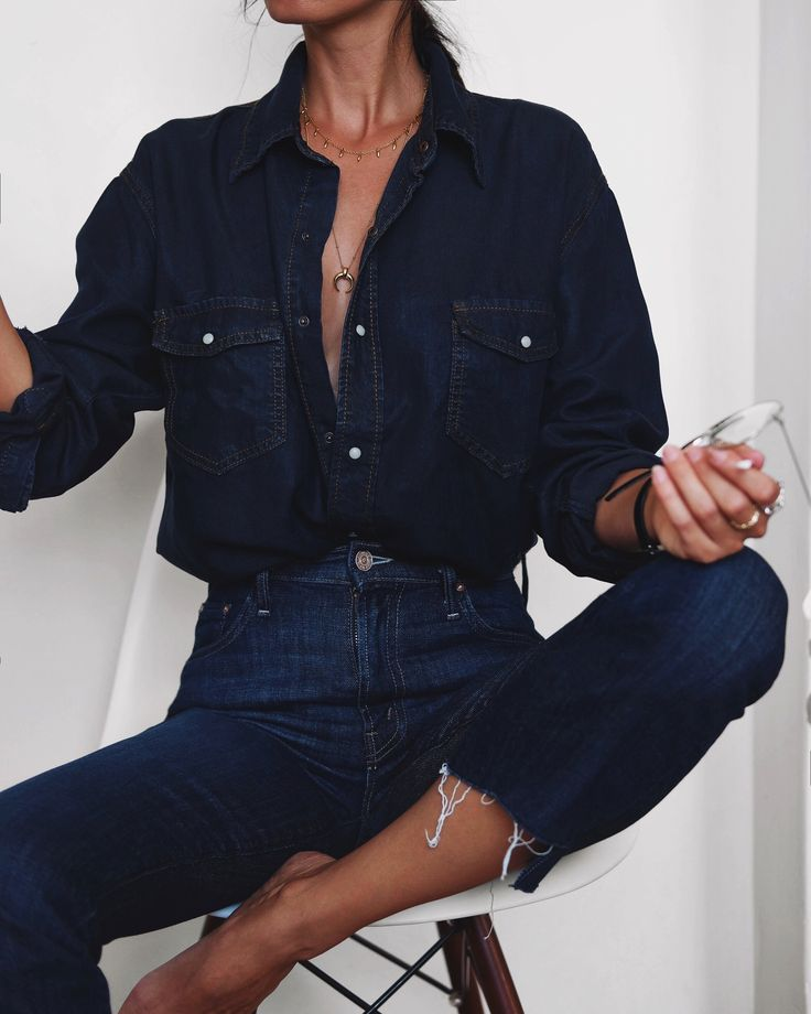 Location: home   …random stuff I though you might like :) ONE TEASPOON | denim shirt MOTHER DENIM | the insider crop jeans (in different colour HERE and HERE) ACNE STUDIOS | dramatic moh…