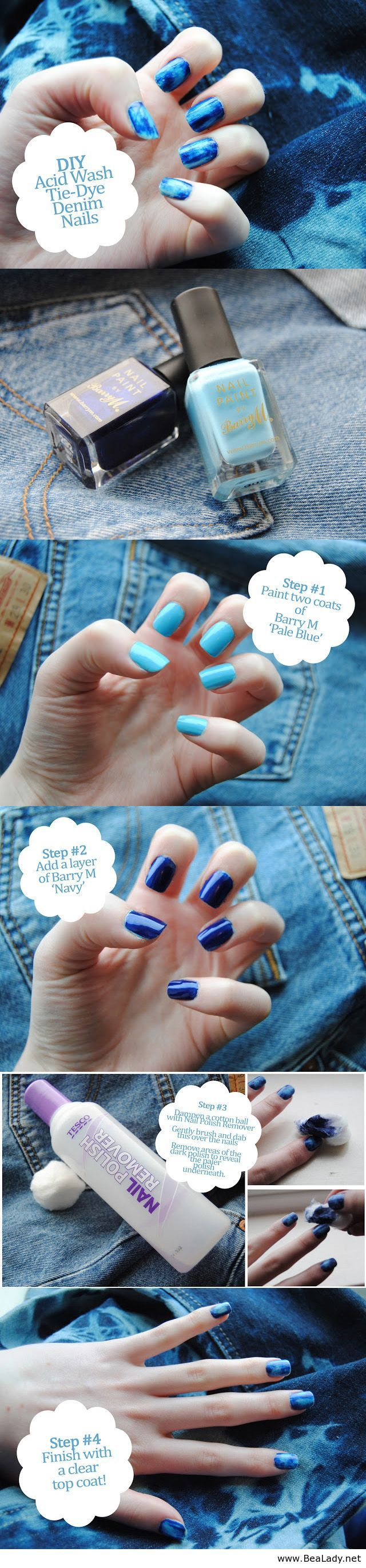 25 beautiful tie dye nails ideas on pinterest cool nail designs tutorial on tie dye nails prinsesfo Choice Image