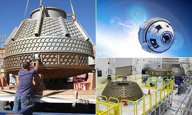 The Starliner is set for blast off! Boeing opens massive facility to build spacecraft that will see US return to manned spaceflight | Starliner, formerly known CST-100, is expected to begin ferrying astronauts to the ISS within two years | It may also take paying customers to low-Earth orbit and the unique sensation of sustained weightlessness [Space Future: http://futuristicnews.com/category/future-space/]