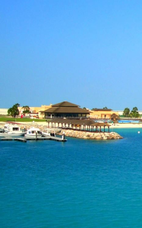 Situated 9km from the Abu Dhabi Corniche, a 20-minute boat ride is all it takes to reach this isolated spot of paradise. Al Maya Island #AbuDhabi