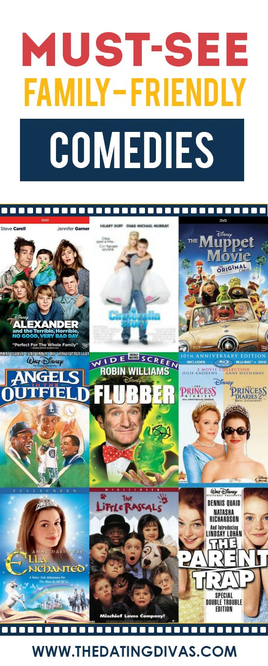 Family-Friendly Comedy Movies