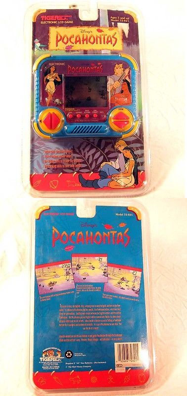 Other Battery Op Toys 1990-Now 38287: New Sealed Tiger Electronics Disney S Pocahontas Handheld Video Game 72-821 -> BUY IT NOW ONLY: $33.99 on eBay!