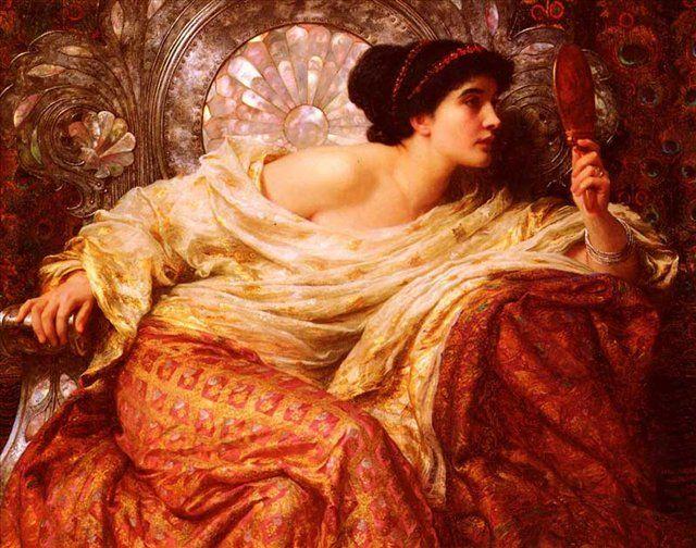 Frank Bernard Dicksee (1853-1928) . Сэр Фрэнсис Бернард Дикси, английский художник Викторианской эпохи,