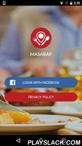 "Masarap!!!  Android App - playslack.com , The delicious app is here! With Masarap, you can enjoy searching for and exploring the best restaurants in town, plus share the ideal places to eat.Masarap is your way to experience all ""MASARAP"" food all over the metro. Let the app help you discover the best and nearest restaurant to your location. You can use the map or search for a particular restaurant. Let other people experience too, the satisfaction and happiness that food brings.Features:Easy…"