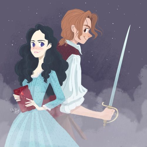 Carina Barbossa and Henry Turner
