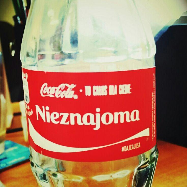 CocaCola Nieznajoma
