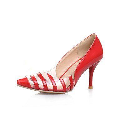 Dew Stiletto - Lackleder - FRAUEN Absätze/Spitze Zehe - Pumps / High Heels ( Schwarz/Gelb/Rot/Silber/Gold ) - http://on-line-kaufen.de/dew-hohe-fersen/dew-stiletto-lackleder-frauen-absaetze-spitze