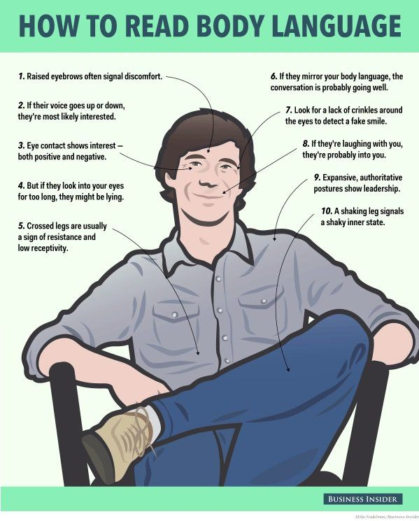 10 proven tactics for reading people's body language...https://goo.gl/OvmyC6
