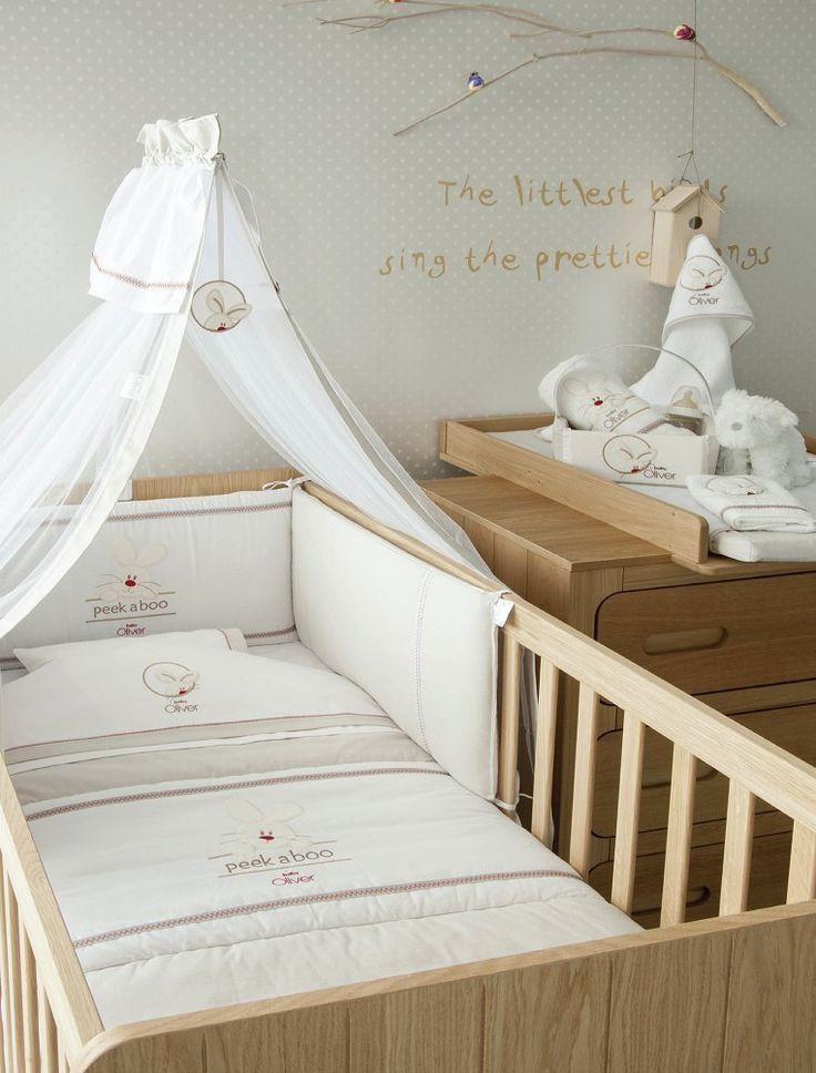 Baby Oliver Bettwäsche 100 x 135 cm, Kopfkissen 40 x 60 cm des. 631: Amazon.de: Baby