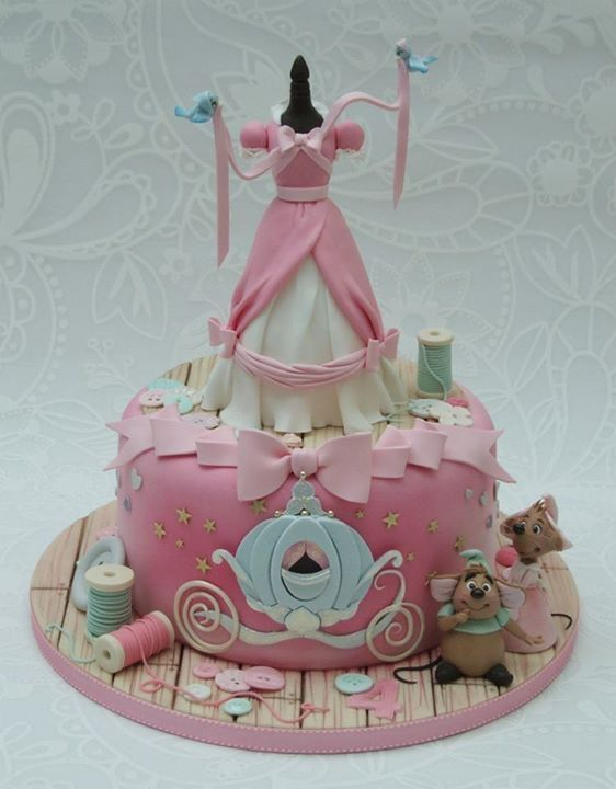 Cinderella original cake