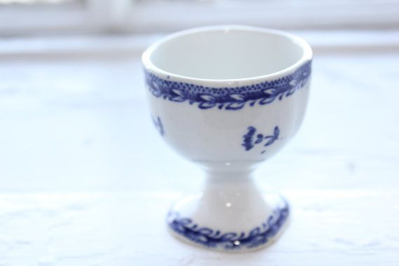 Old Arabia Finland egg cup by FinnishTreasures on Etsy, $22.00