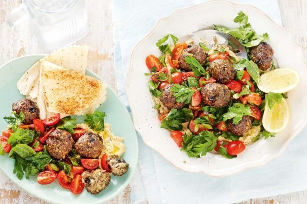 The combination of lamb mince, currants and pine nuts makes these meatballs taste sensational.