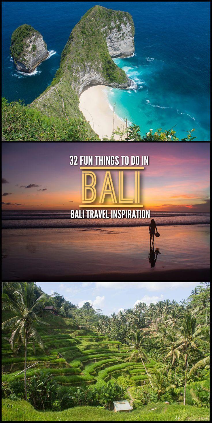 32 Fun Things To Do In Bali Bali Travel Inspiration Bali Indonesie Indonesie Bali