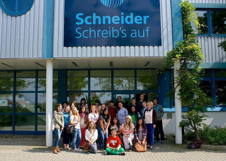 Visit to Schneider pen manufacturer