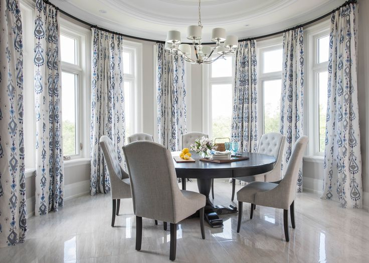 Great Dining Room Drapes Pictures