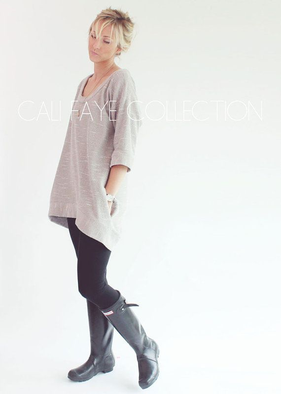 The Perri Pullover WOMENS PDF pattern and by CaliFayeCollection