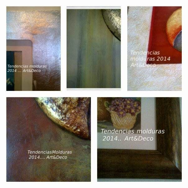Pintura decorativa, Muros y  Decoración: Las tendencias para objetos decorativos, tanto en ...