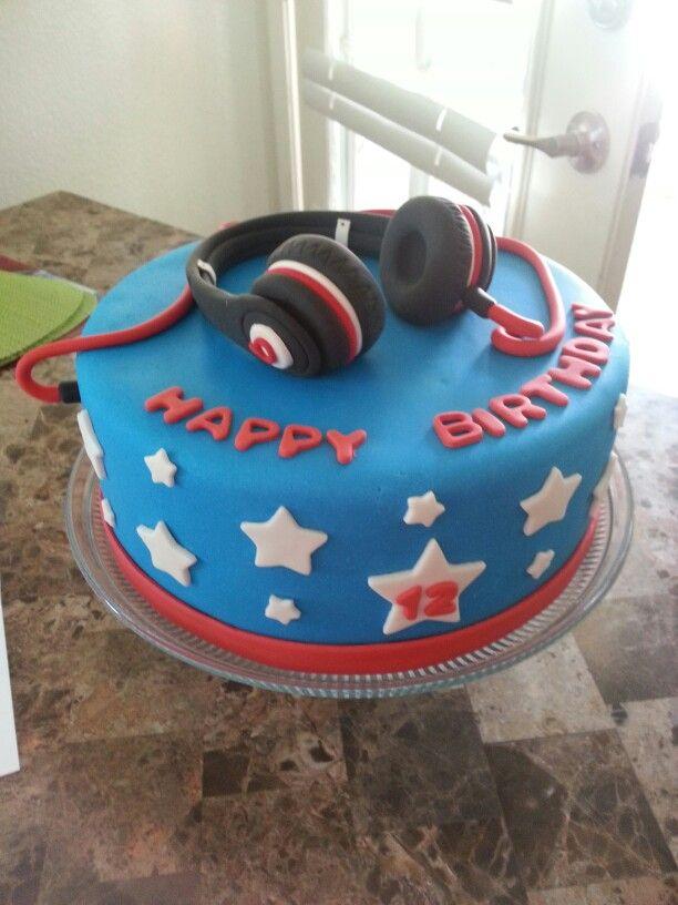 Beat Headphone cake