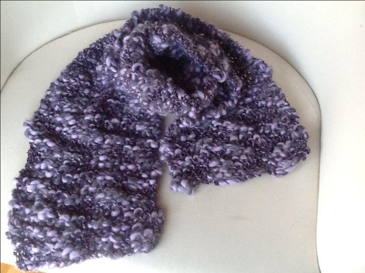 Bufanda de mitja - knitting (Tropicallane)